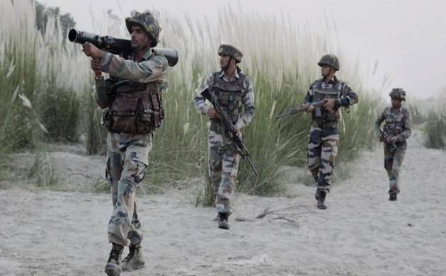 Indian Army soldiers deployed at International Border