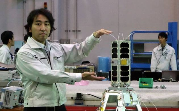 JAXA launches world's smallest rocket with micro-satellite (Source: NASA)