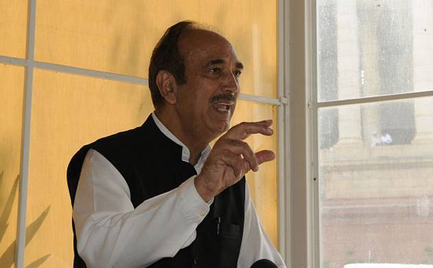 Nobody knows repackaging better than BJP-led NDA government, says Congress leader Ghulam Nabi Azad (File Photo)