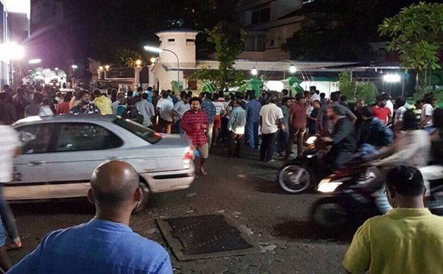 Gayoom's son-in-law was also arrested. (ANI)