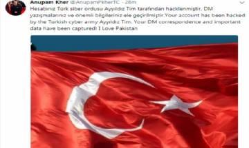 Pro-Pakistan groups hack Twitter handles of Kiran Bedi, Anupam Kher, Ram Madhav