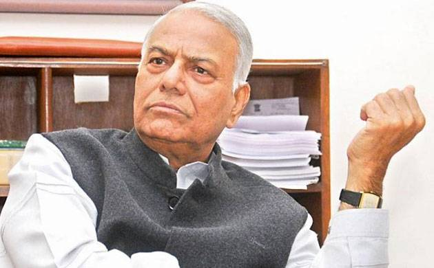 Yashwant Sinha in no mood to quit BJP (Source: PTI)