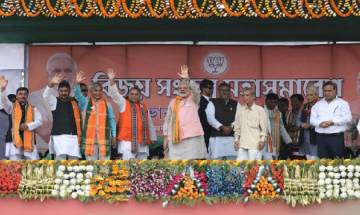 PM Modi slogan for Tripura election 'Chalo Paltai; says 25 years Manik-rule has left state underdeveloped