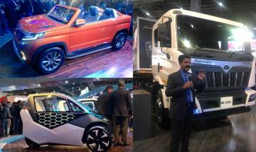 Auto Expo 2018: Mahindra's 'future of mobility' displayed! Unveils six new electric conceptual vehicles!