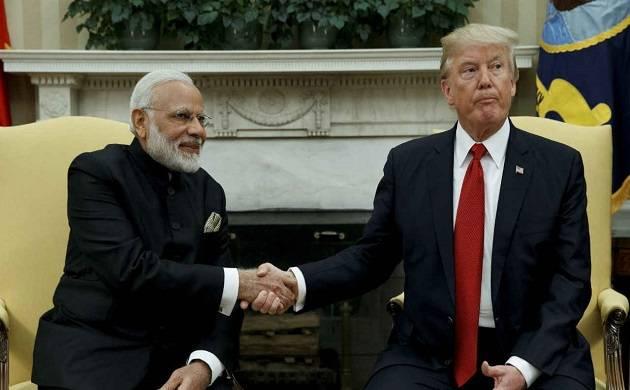 PM Modi and US Prez Donald Trump (PTI file)