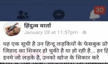 Kolkata couple gets death threats after Love Jihad list posted on Facebook