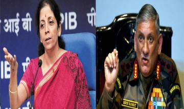 Defence Minister Nirmala Sitharaman, Army chief Bipin Rawat to visit Jammu post terrorist attacks