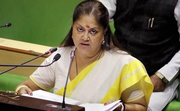 Rajasthan budget 2018: Vasundhra Raje sells dreams for votes before Assembly polls (PTI Photo)