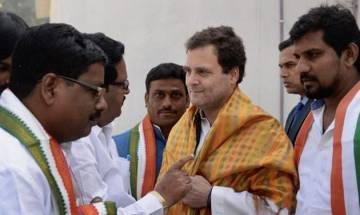 Karnataka Elections 2018: Rahul Gandhi accuses BJP of creating rift between communities, igniting fire