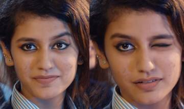 Song featuring Priya Prakash Varrier gets into legal trouble