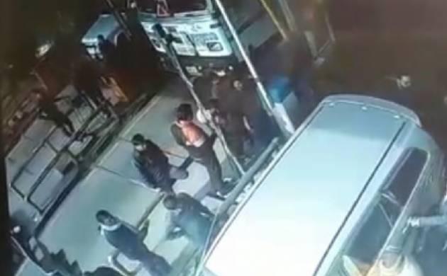 Uttar Pradesh: BJP lawmaker sitting in car, watches son, supporters thrash Mathura toll plaza employee