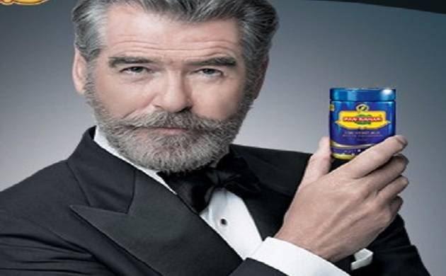 James Bond actor Pierce Brosnan issued with show cause notice over pan masala advt(Source - Pan Bahar Website)