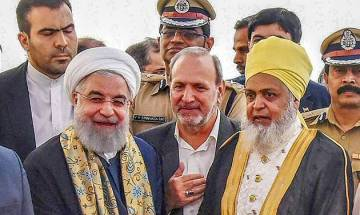 Iranian President Hassan Rouhani lauds India's diversity, peaceful co-existence of religions