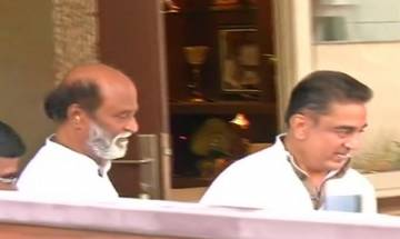 Kamal Haasan meets Rajinikanth ahead of party launch, sparks speculations of alliance