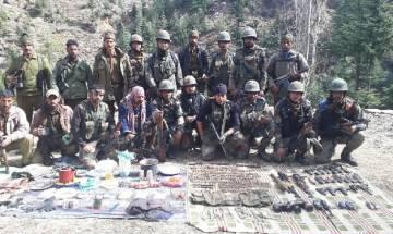 Jammu and Kashmir: Indian Army busts terrorist hideout in Khistwar; seizes rockets, Ak-56 rifles, ammunition