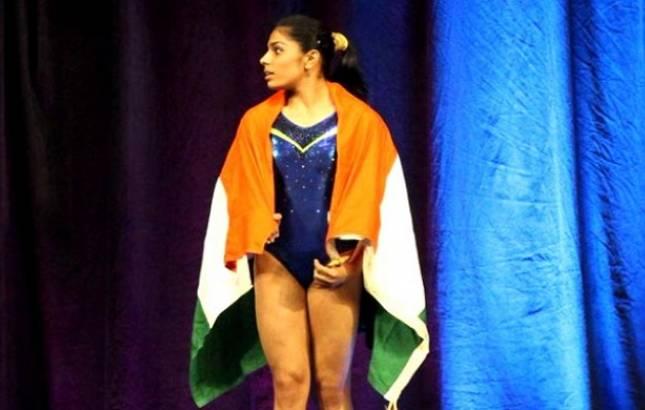 Aruna Budda Reddy creates history, clinch bronze medal in 2018 Gymnastics World Cup(Source - Twitter IndianGymnastics
