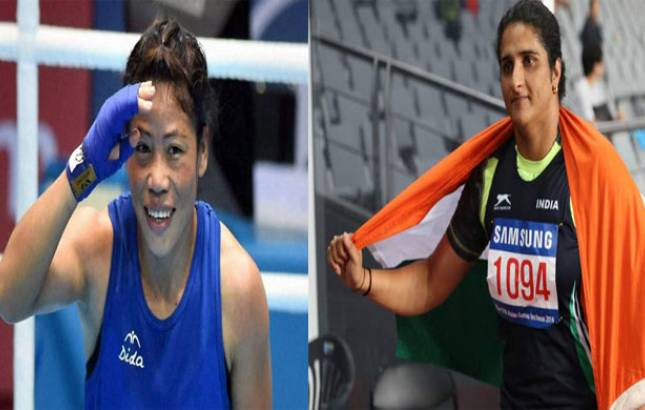 MC Mary Kom, Seema settle for silver in Strandja Boxing tournament (Source: PTI)