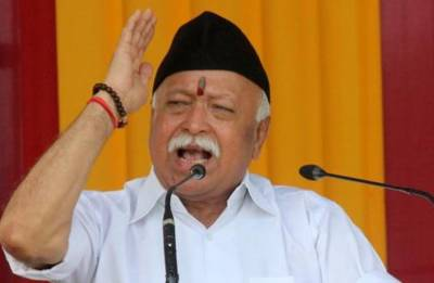 All Hindus are one, say with pride we're one, RSS chief Mohan Bhagwat