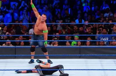 WWE Smackdown results: John Cena BEATS AJ Styles to make WWE title match at Fastlane a six pack challenge