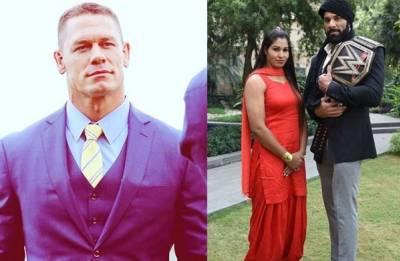 Happy Holi: John Cena, Jinder Mahal, Kavita Devi and other WWE superstars wish Indian fans (watch video)