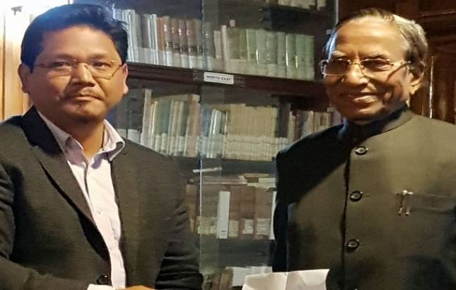 Setback for Congress, NPP-BJP stake claim to form govt in Meghalaya, oath ceremony on March 6 - File Photo