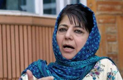 Mehbooba Mufti says she is deeply distressed by killing of civilians in Shopian