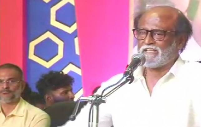Rajinikanth to deliver debut political speech in Chennai (Source: ANI)