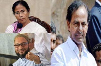 From Owaisi to Mamata, politicians, political parties back TRS Chief KCR's decision of joining national politics, forming third-front