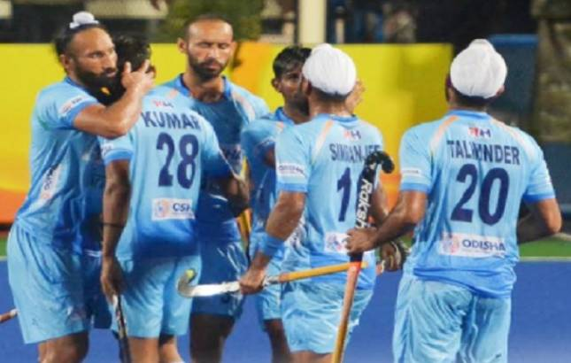 Sultan Azlan Shah Cup 2018: India crushes Malaysia to stay alive in the tournament(Source - Hockey India Twitter)