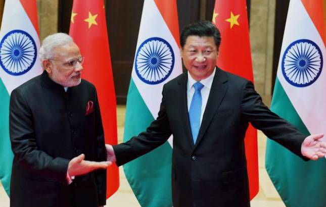 China-India relationship continues to grow (Image source: PTI)