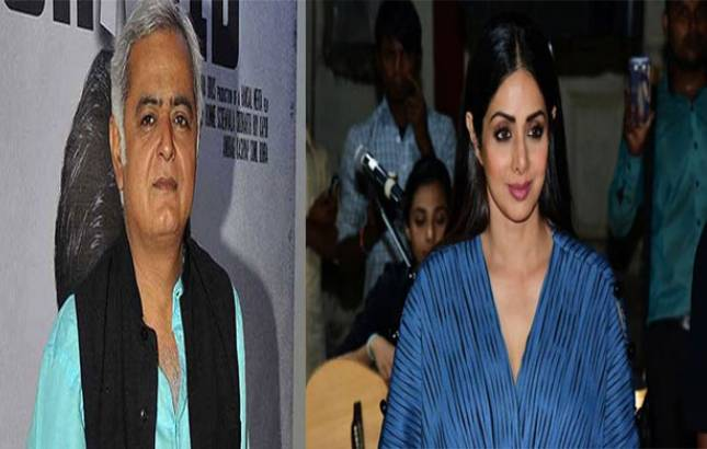 Hansal Mehta REVEALS the details of film he was set to OFFER Sridevi (Source- IANS)