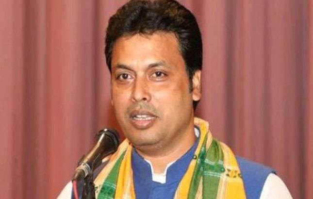Tripura CM Biplab Kumar Deb allocates portfolios of all nine minister, sworn-in on Saturday (File Photo)