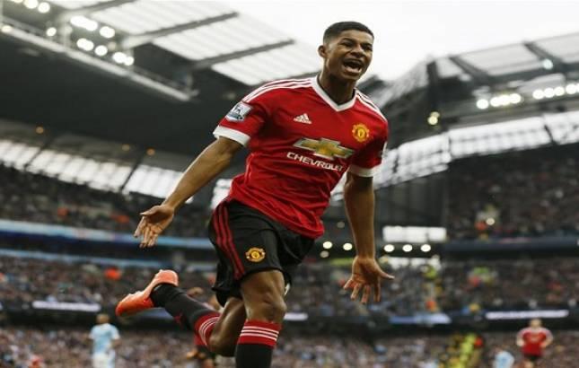 Rashford scored a brace against Liverpool (Source: AP)