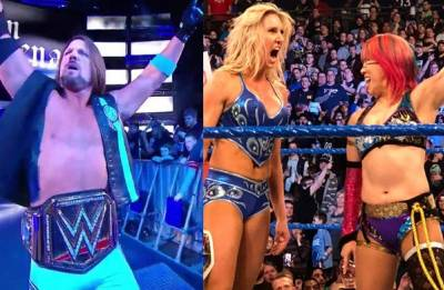 WWE Fastlane 2018 Results:  AJ Styles RETAINS WWE title, Asuka CHALLENGES Charlotte Flair at Wrestlemania 34