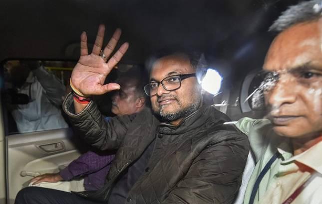 INX Media case: Karti Chidambaram sent to Tihar till Mar 24, no special cell for him (File Photo)