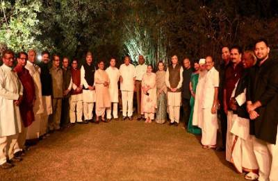 Sonia Gandhi hosts dinner for 17 Opposition leaders at 10 Janpath