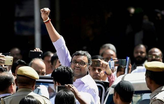 Delhi HC extends Karti Chidambaram's protection from arrest in ED case till Mar 22 (File Photo)