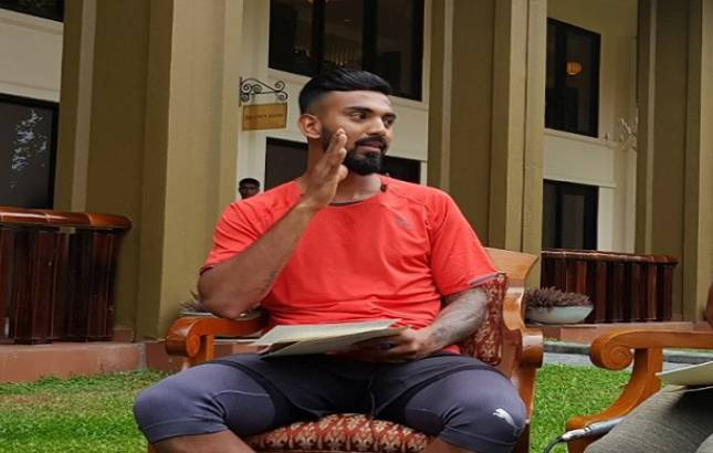 KL Rahul is Wisden India Almanack's Cricketer of the Year(Source - file pic)