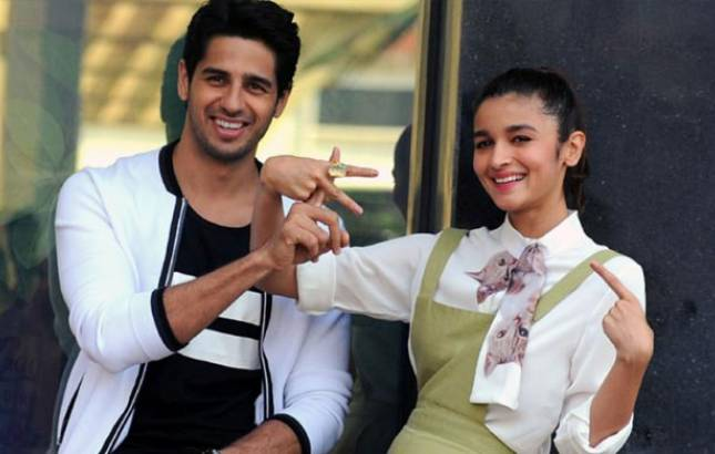Alia and siddharth dating