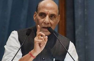 Only time will tell against whom the country is rising: Rajnath Singh