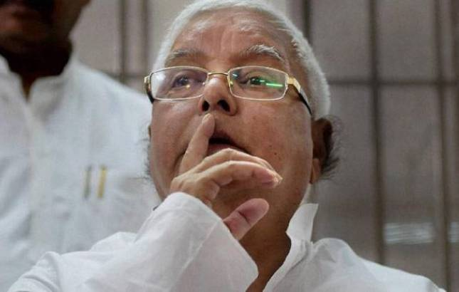 Lalu Prasad Yadav admitted to hospital in Ranchi after chest pain complaint (PTI photo)