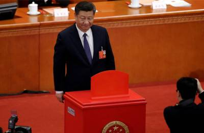 Xi Jinping re-elected as Chinese President, Wang Qishan elected as Vice President