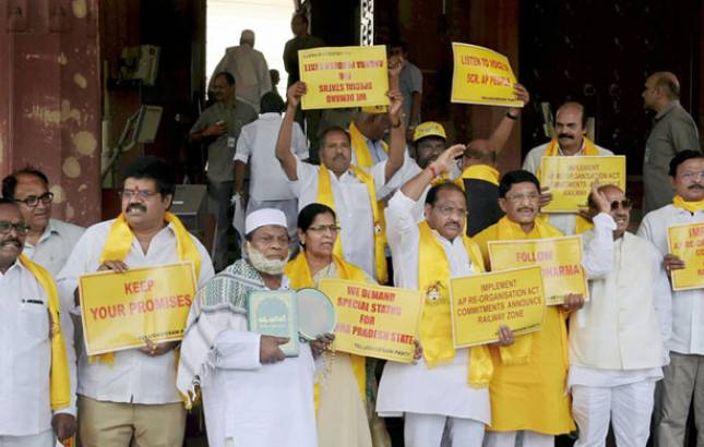 Opposition parties back no-confidence motion, extend support to TDP, YSR (Source: PTI)
