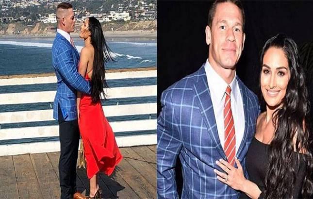WWE: John Cena-Nikki Bella DEFEAT Elias-Sonya Deville in their first match post WM 33 (Source- Nikki's Instagram)