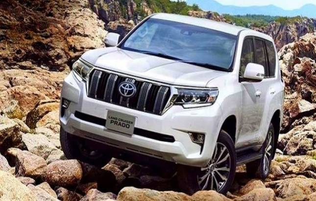 2018 Toyota Land Cruiser Prado facelift launched in India at Rs 92.60 lakh(Source - file pic)