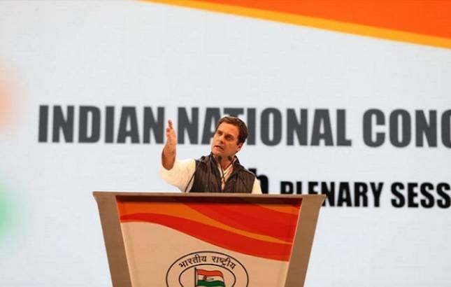 Rahul Gandhi sounds bugle for 2019 polls; attacks Narendra Modi (Photo Source: Twitter)