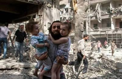 Strike on Syria's Ghouta kills 15 children sheltering in school, says monitor