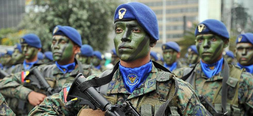 Three Ecuadorean soldiers killed by homemade explosive (Source: PTI)