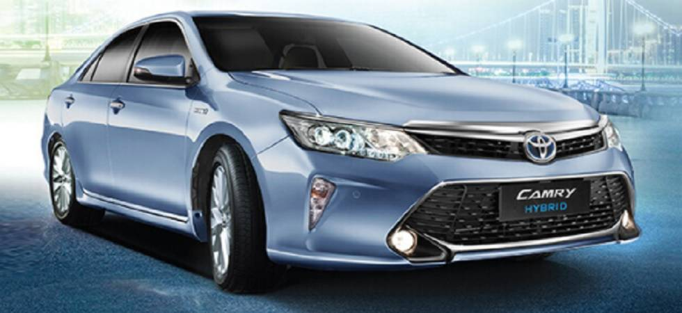 Toyota India launches Camry Hybrid in India at Rs 37 lakh (Source - Website)