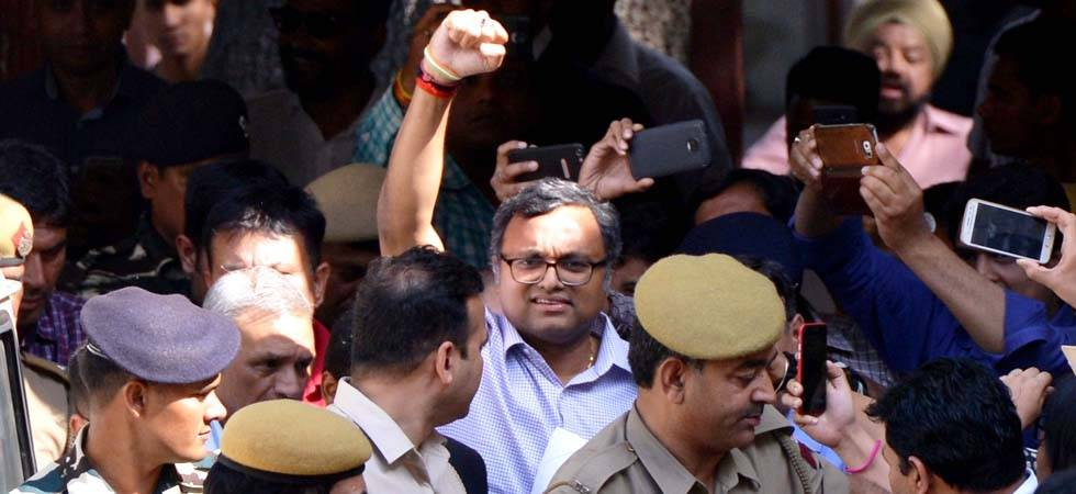 Karti Chidambaram - File Photo